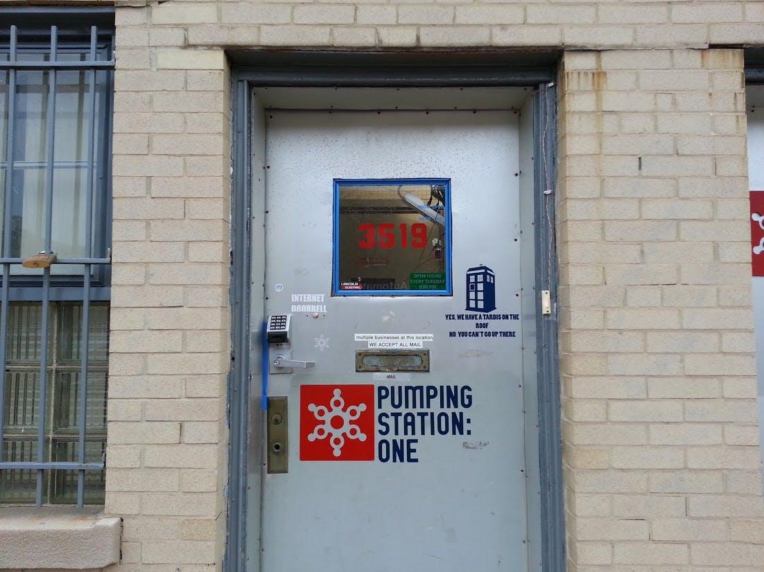 RFID authentication for hackerspace door