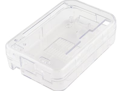 Clear Plastic Enclosure