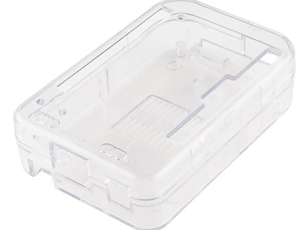Clear Plastic Enclosure