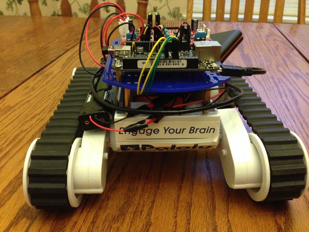 My First Working Robot, It's Alive