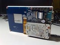 BeadaFrame LCD touchscreen