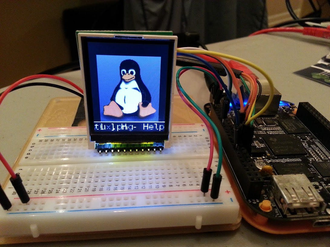 BeagleBone Black: build fbtft drivers for latest Linux 3....