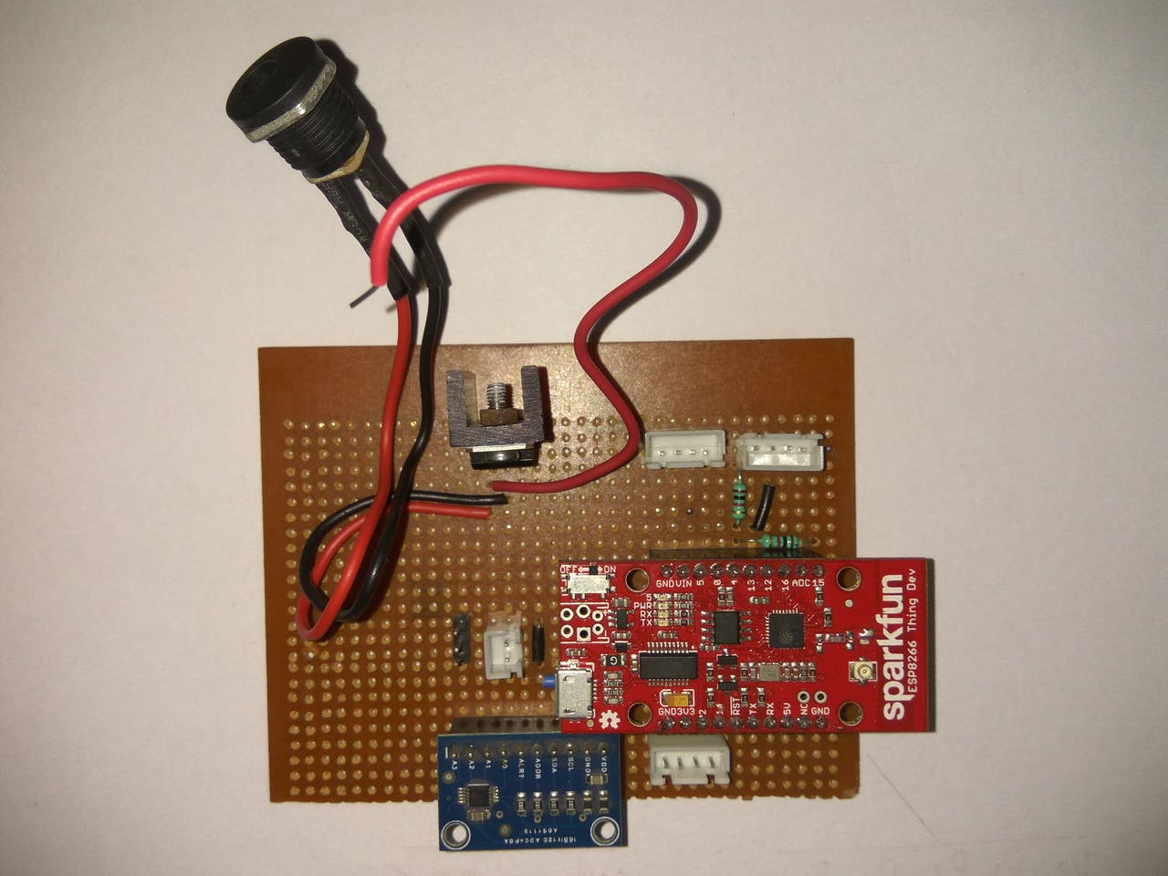 Smartmali Light Dependant Resistor Forms The Base Of This Sensor Module Circuit