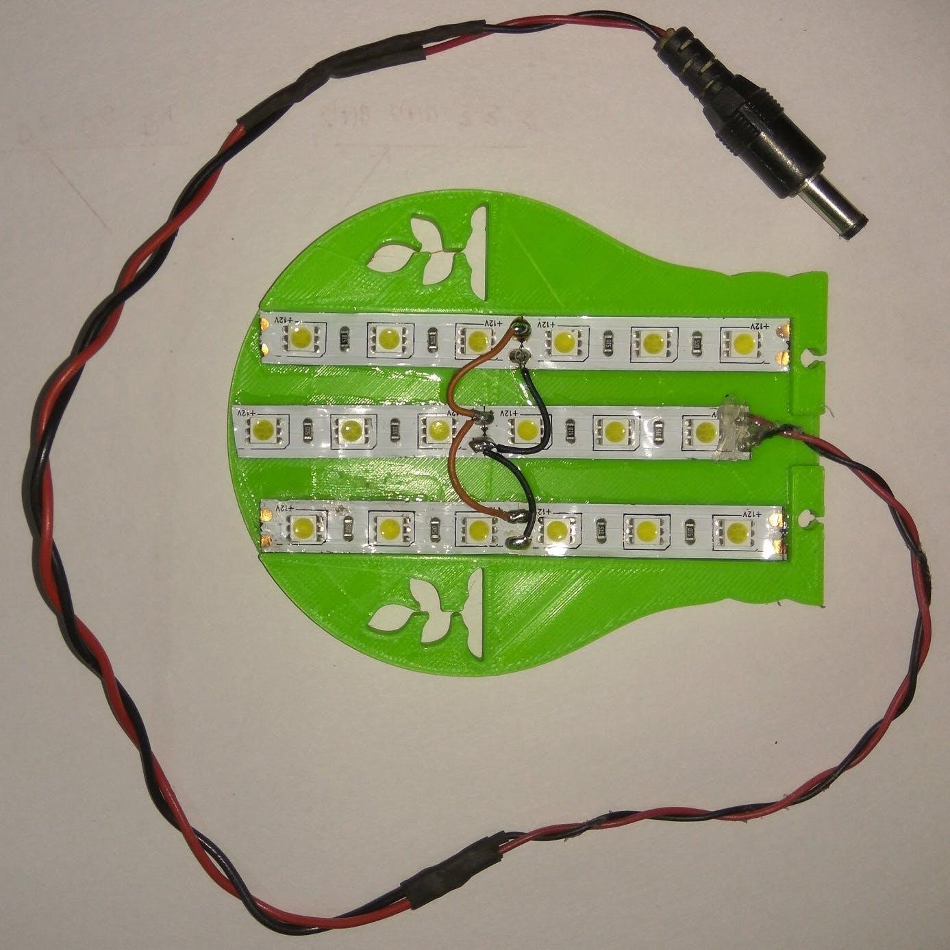 LED Grow Light (White LED Strips)