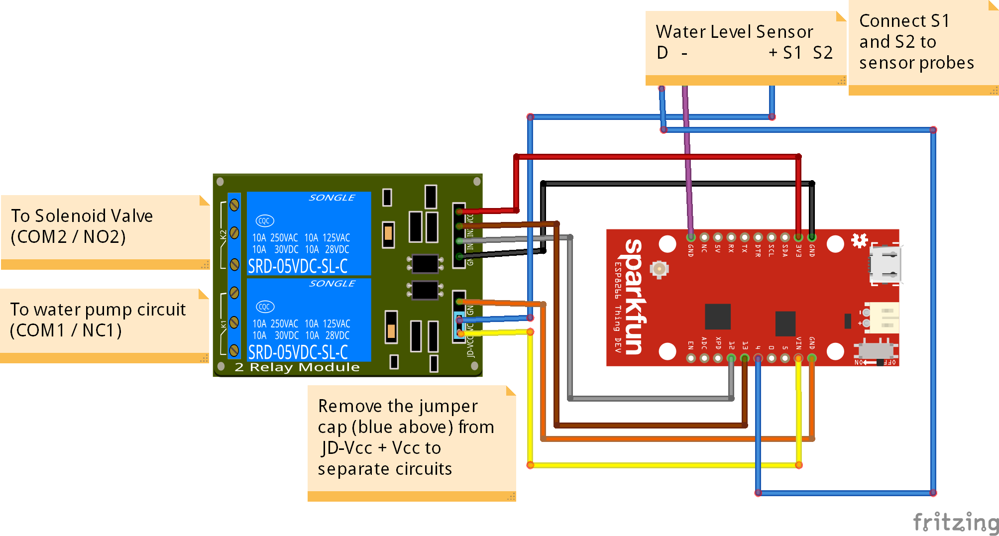 Automatic Water Source Switching And Monitoring System Hc Sr04 Schematic Additionally Reverse Switch Wiring Diagram Thing Rele Sensor E Valvula Bb Qnfwhaikck