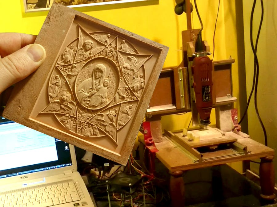 Mini CNC: A Handmade Masterpiece