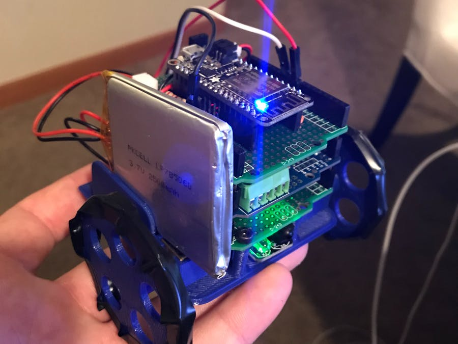 Crawler: A Obstacle Avoidance Rover