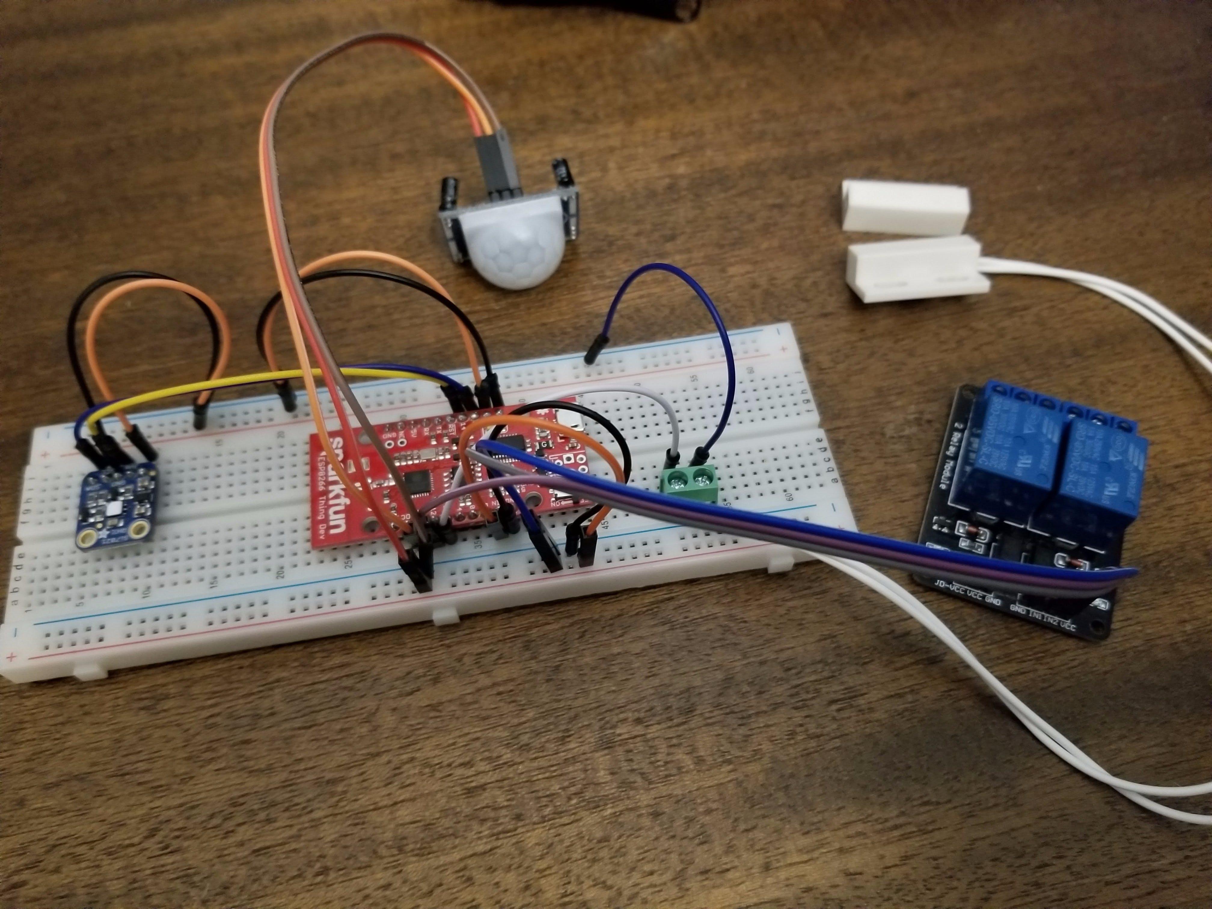 ESP8266 Garage Multisensor for Home Assistant