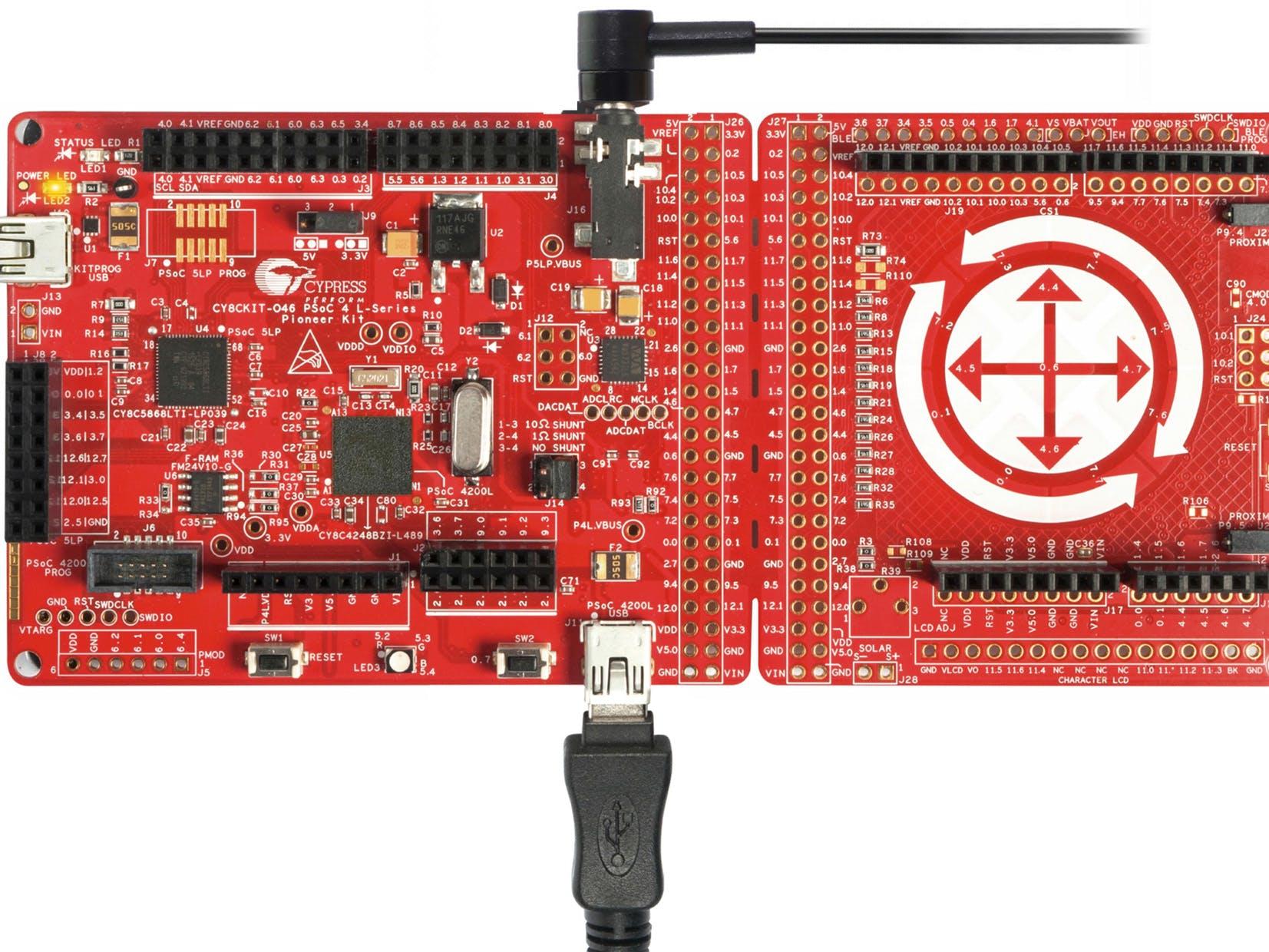 Designing PSoC4200L USB Composite Device