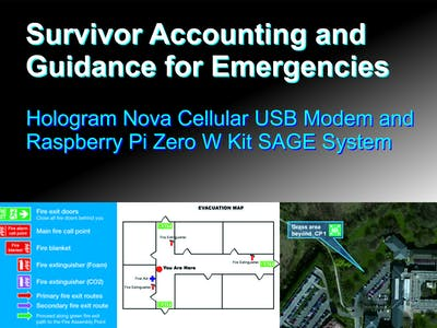 Survivor Accounting and Guidance for Emergencies (SAGE)