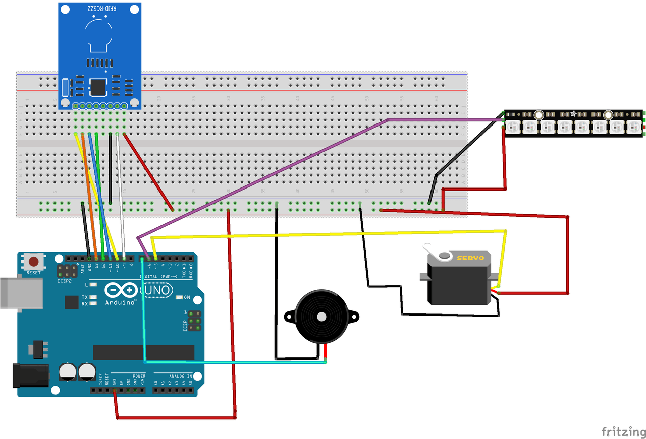 Coolest Door Lock Ever Arduino Project Hub Circuit Diagram Xml