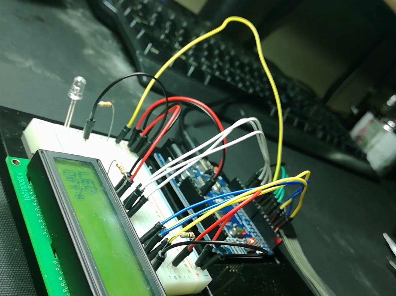 A Simple Arduino Menu With An LCD