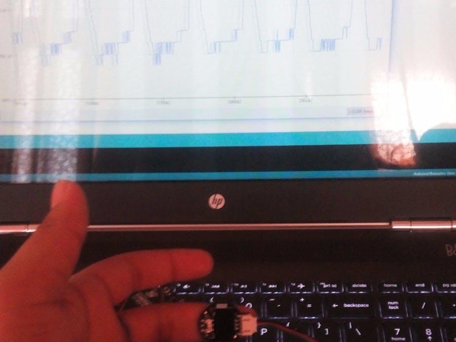 Heart Rate Monitor on ThingSpeak IoT Platform