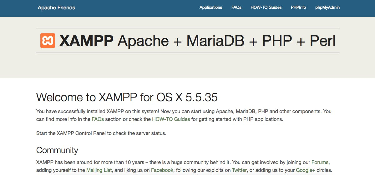 This is showing os x because i am using xampp for mac book