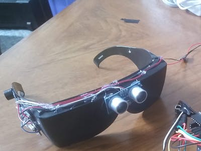 Ultrasonic Glasses for the Blind