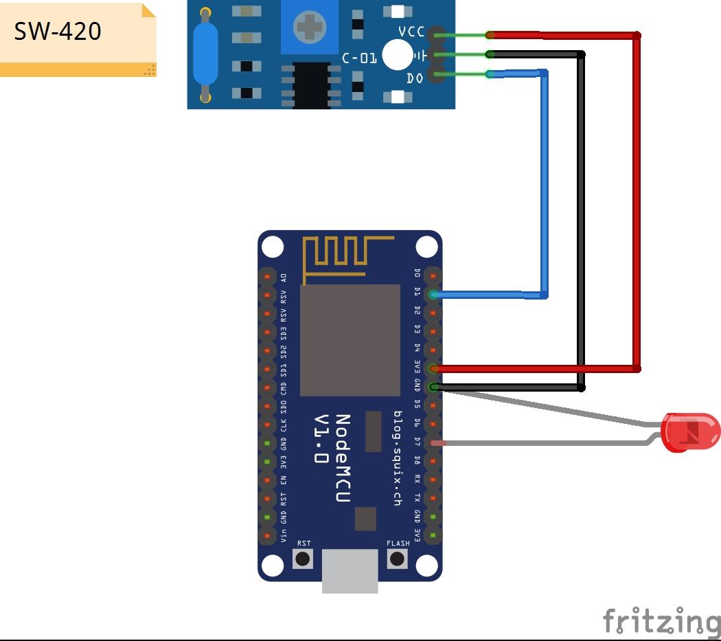 High Sensitive Wifi Fish Bite Alarm With Nodemcu Esp8266 Vibration Sensor Fishalarm Cd Orqsvoucuo