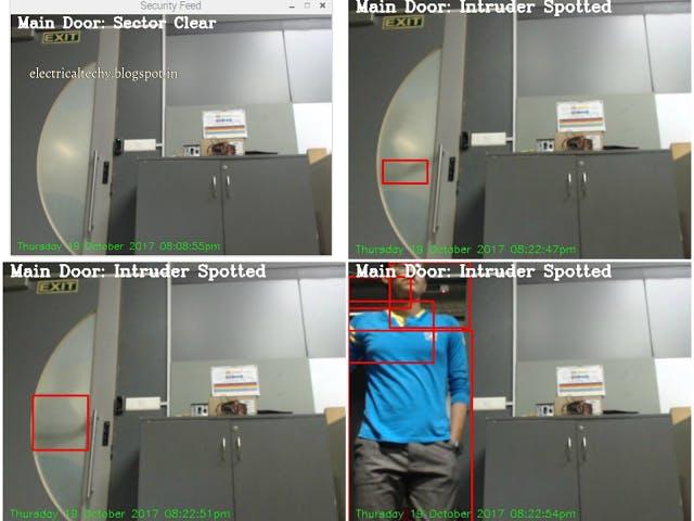 Motion Detection | OpenCV | Raspberry pi | Telegram