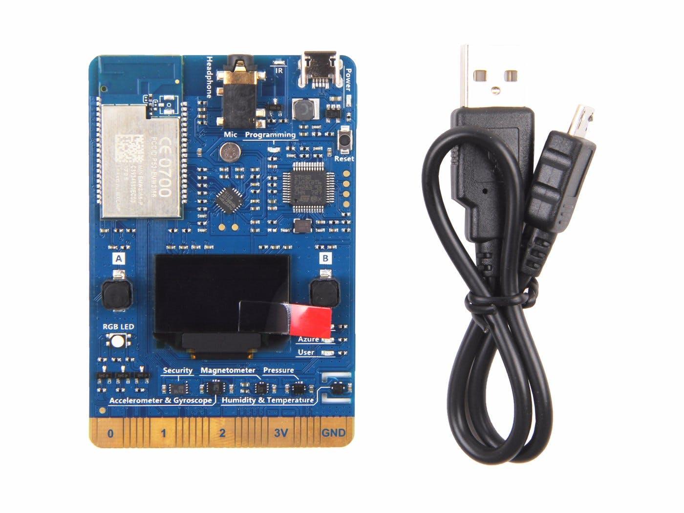 Microsoft Azure IoT Kit - Hello World