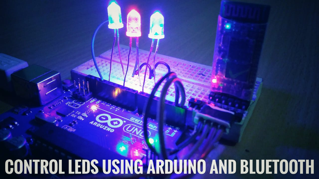 Control LEDs Using Arduino And Bluetooth