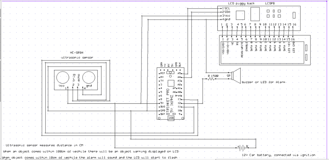 Swell Vehicle Parking Sensor Hackster Io Wiring 101 Swasaxxcnl