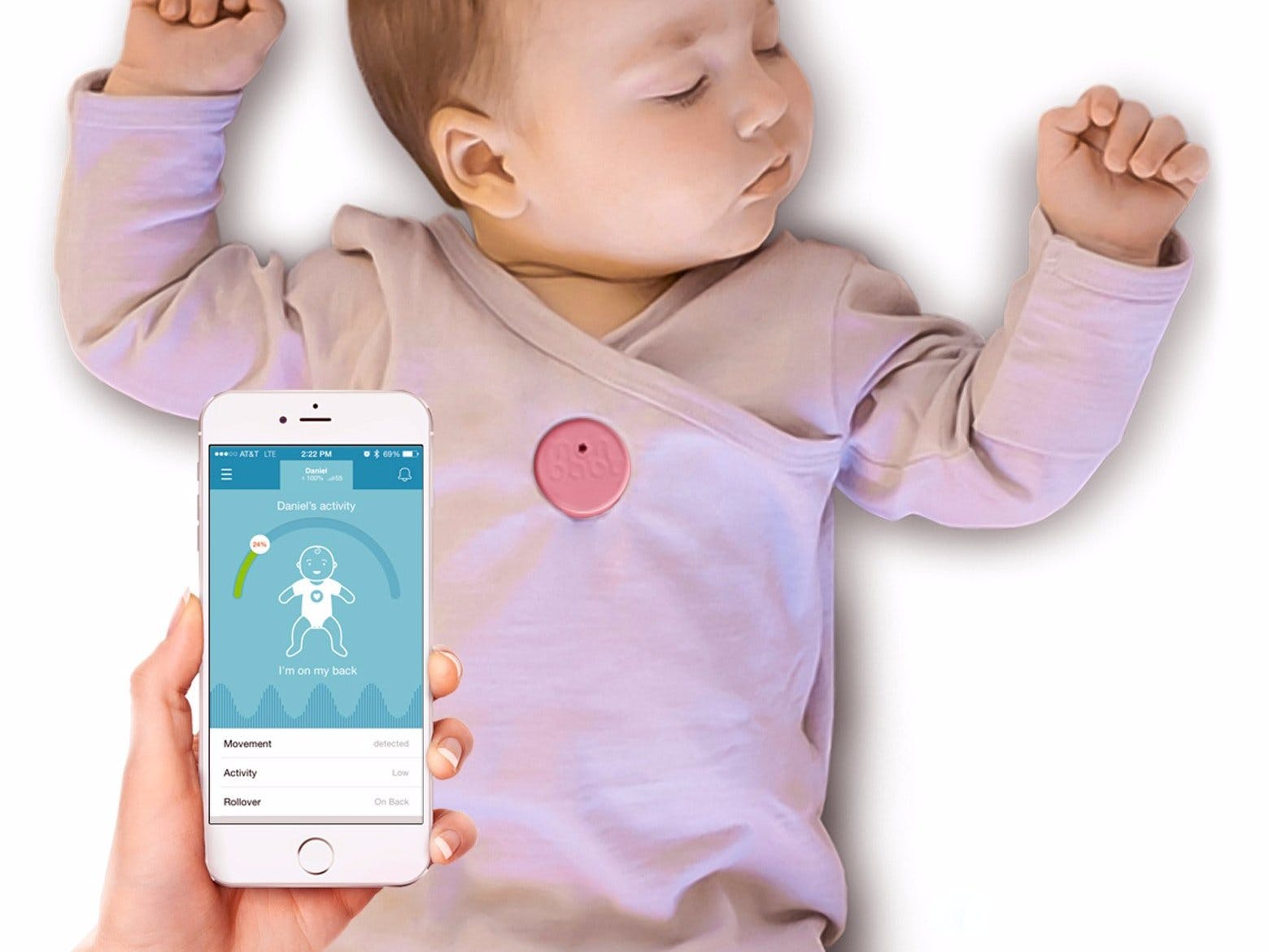 Smart Button Baby Monitor