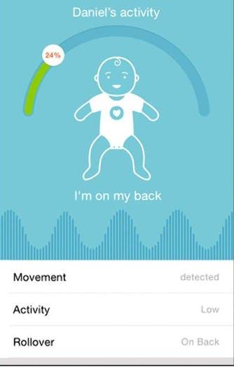 Screenshot showing baby status