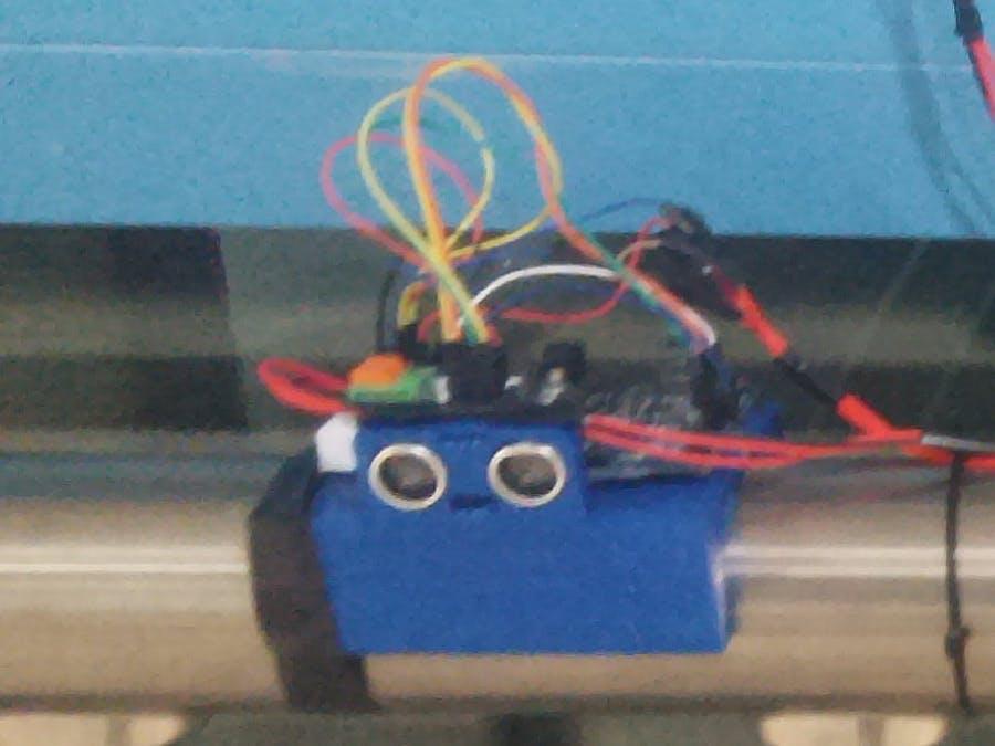 Blind Runner Alarm: Speed Measuring Device