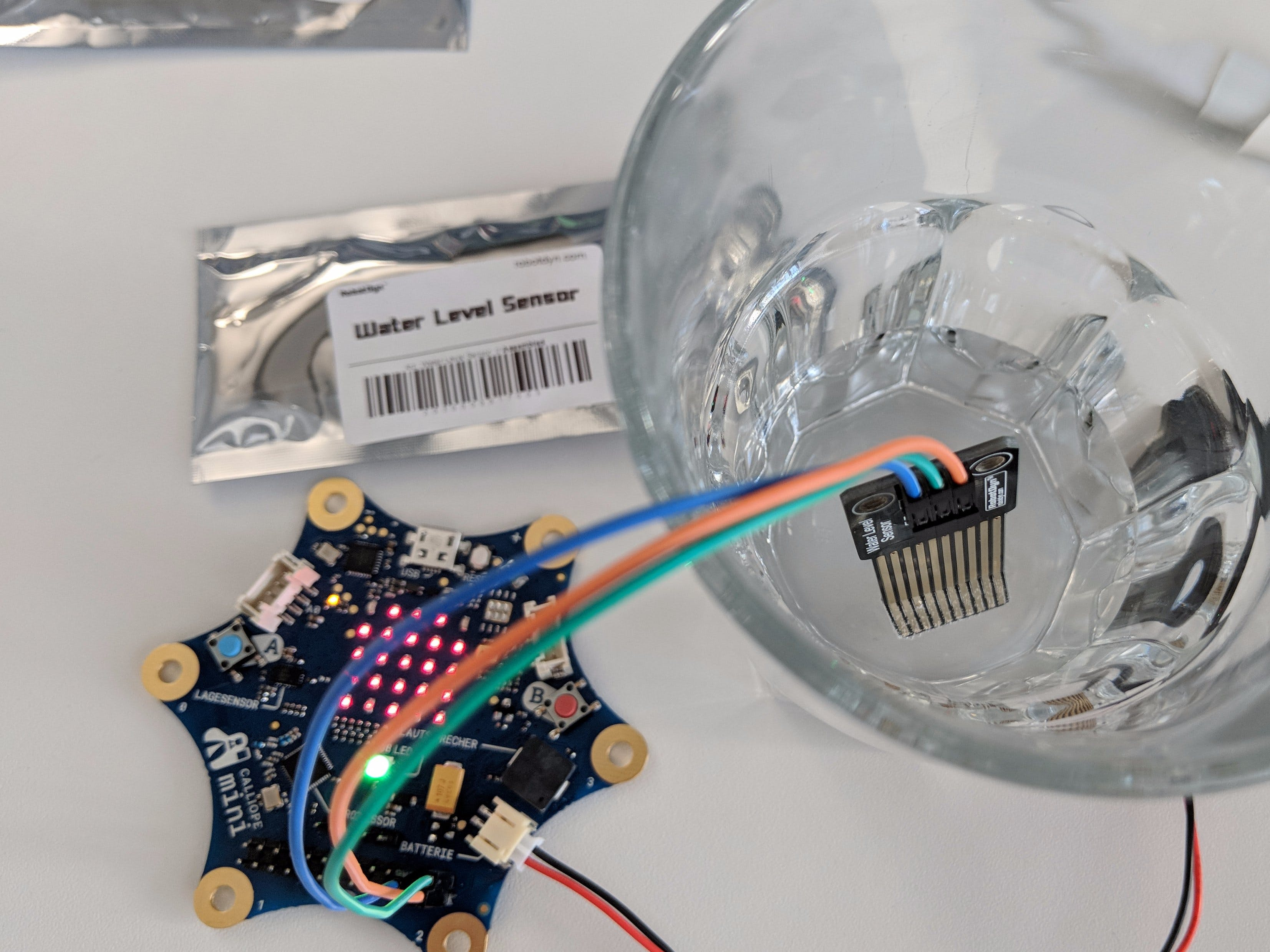 Calliope Mini Water Level Sensor
