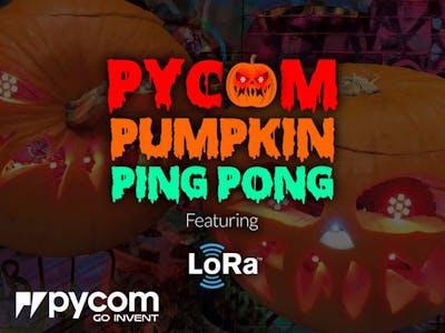 Raw LoRa communication (with pumpkins!)