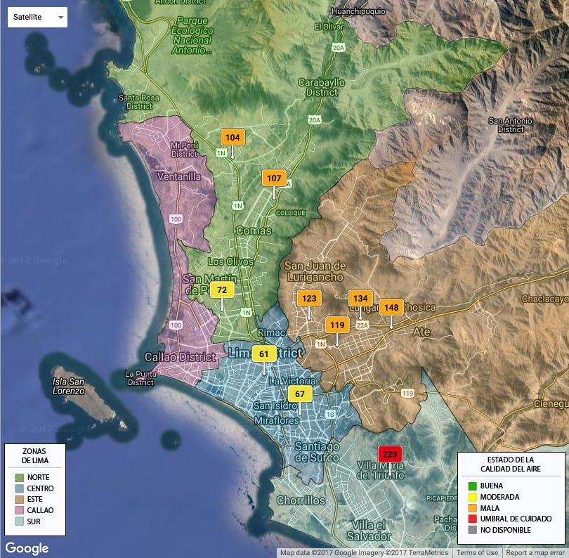 Senamhi website (Government of Peru) http://www.senamhi.gob.pe/?p=monitoreo-de-calidad-de-aire