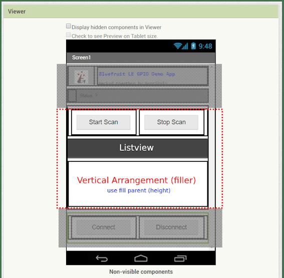 BLE GP-O Controller | MIT App Inv + Feather M0 Bluefruit LE