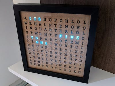 Android Things Word Clock