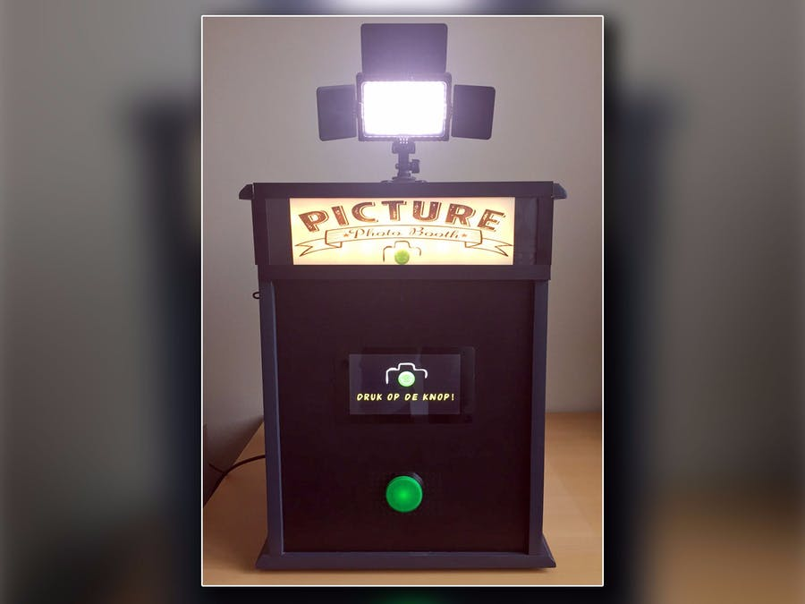 Photo Booth Powered by a Raspberry PI - Hackster io