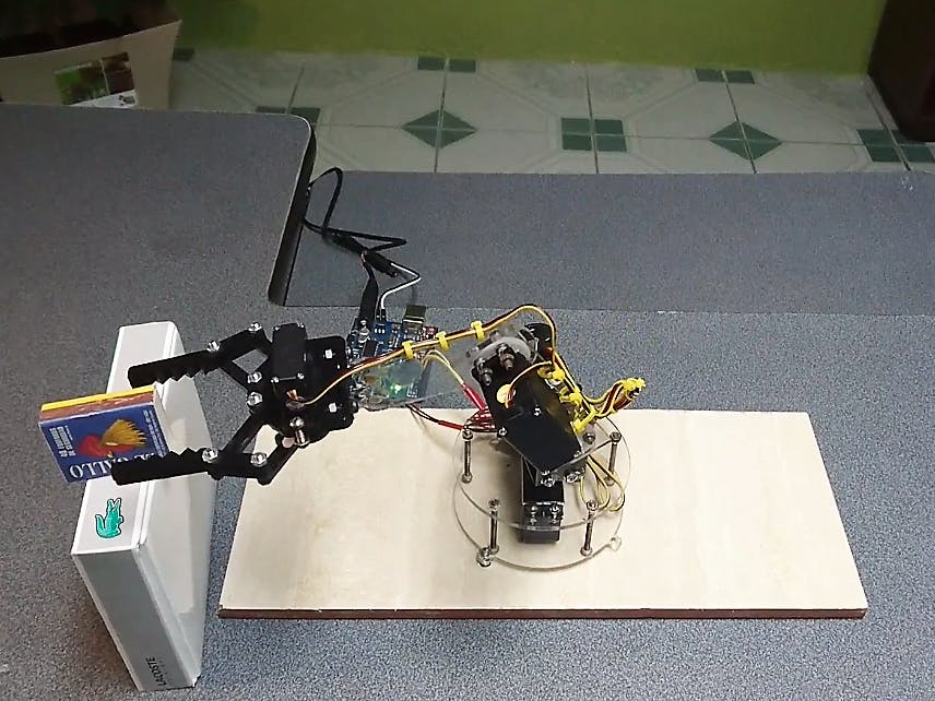 Robotic Arm Arduino Project Hub