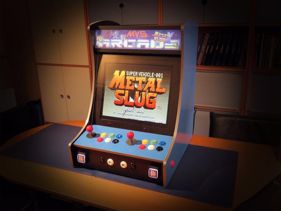 Afbeeldingsresultaat voor raspberry pi arcade machine