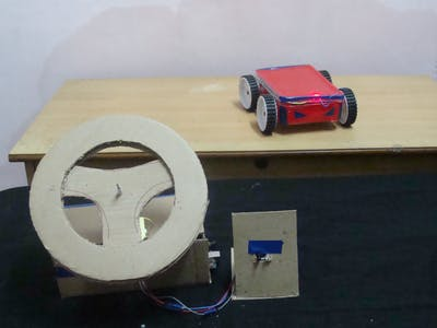 How to Make a Smart RC Car with Steering Wheel Remote