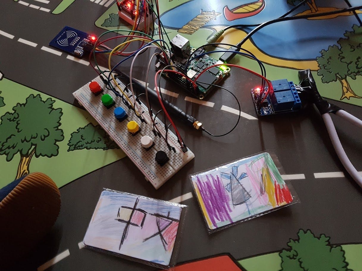 Room Automation for Kids