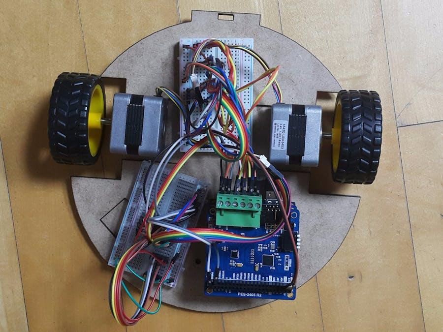Tap & Drag Robotic Vacuum