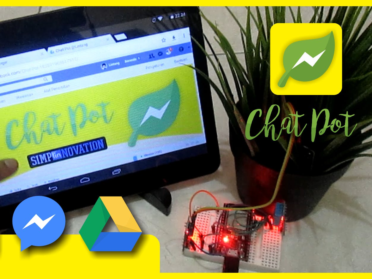 Chat-Pot: Smart Plant Pot with ChatBot