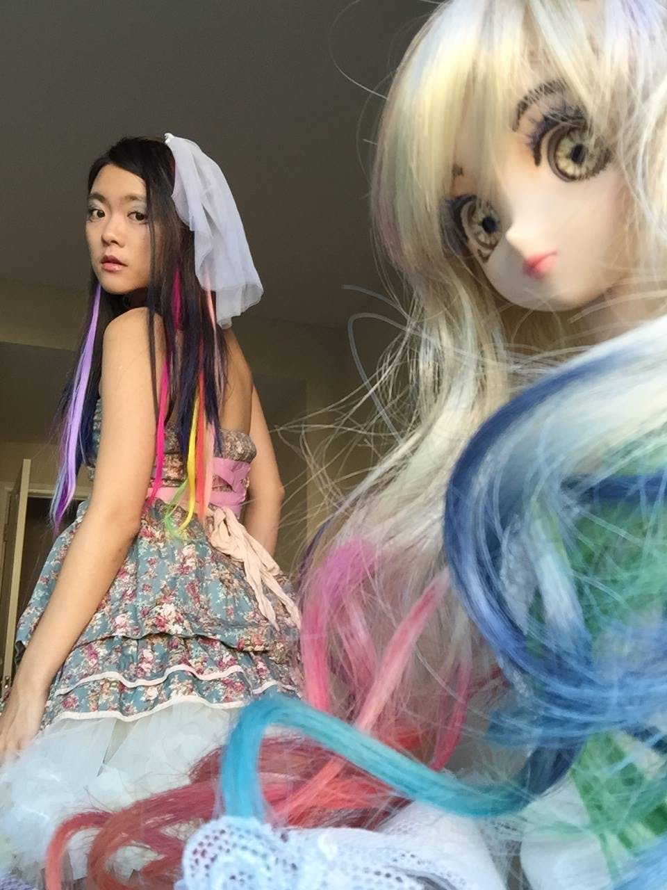 Last Halloween Doll Selfie
