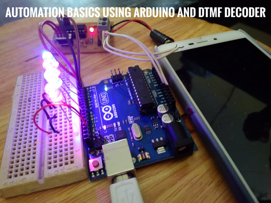 How to make home automation system using arduino