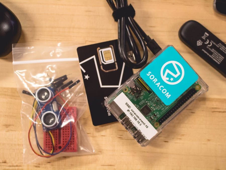 IoT Entry Level: Measure Distance and Visualize on Cloud