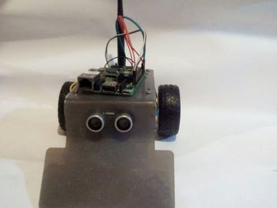 Jose, the particle robot