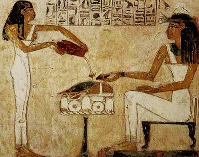 Brewing in Ancient Egypt (Photo Credit: Public Domain)