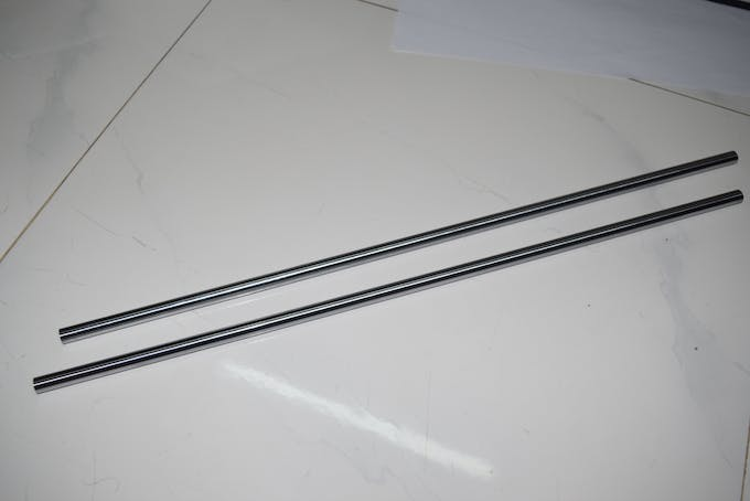 Two iron rods