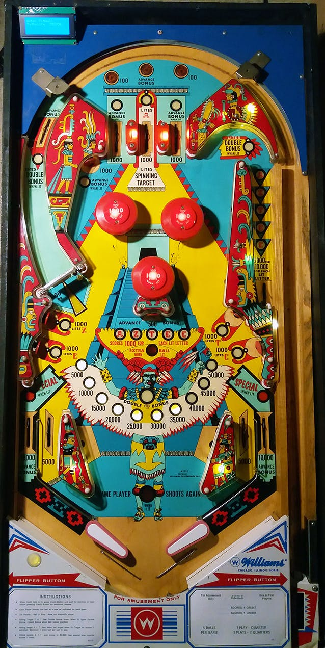 Homemade Arduino Pinball Machine