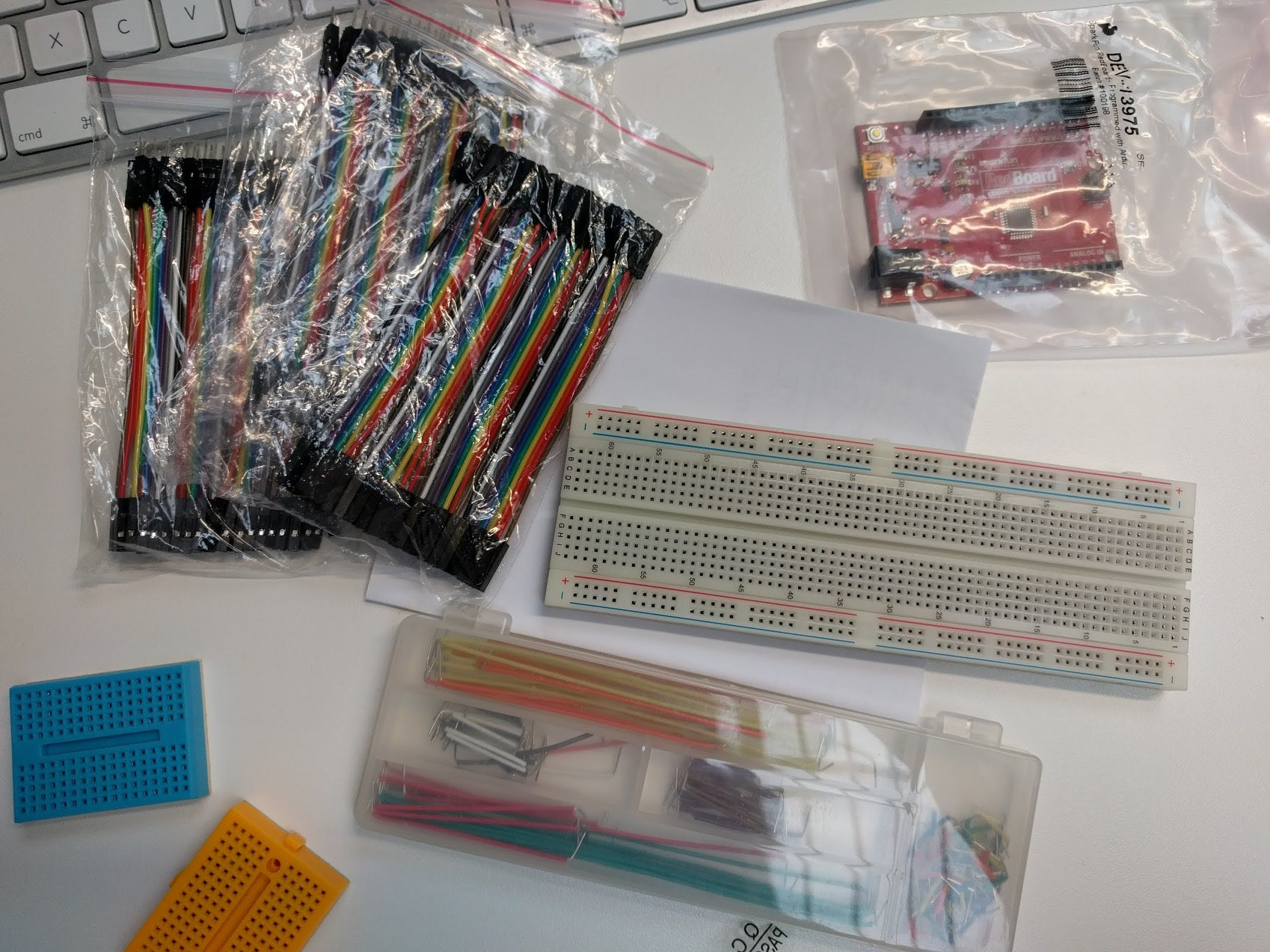 lots of breadboard wires