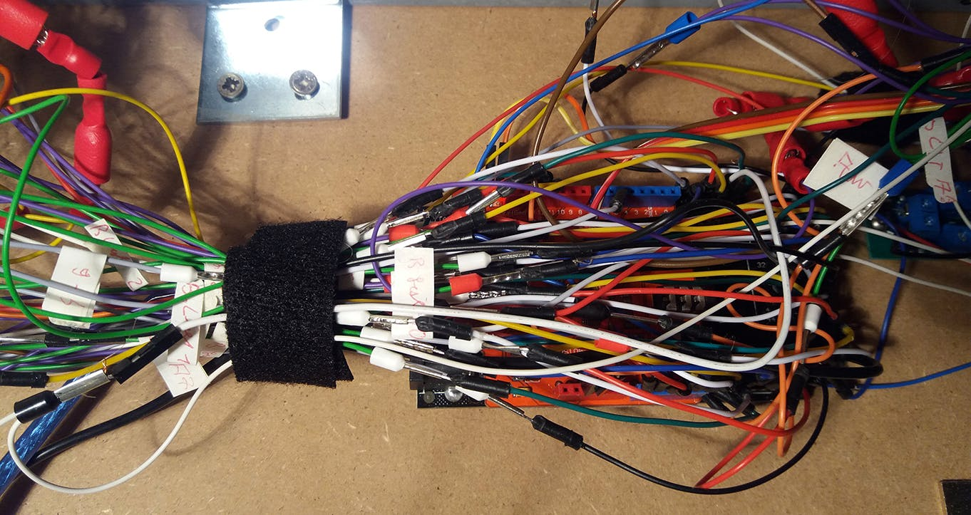 Too many wires, not enough pins