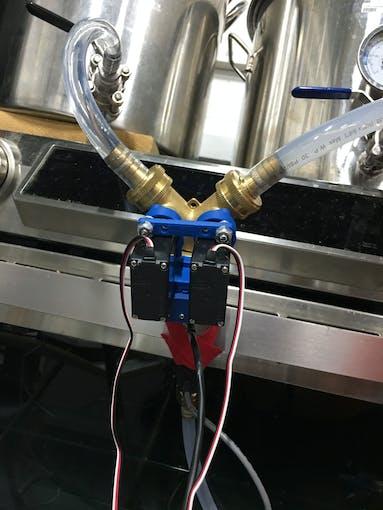 Installation View of the BrewCentral Temperature Mixer