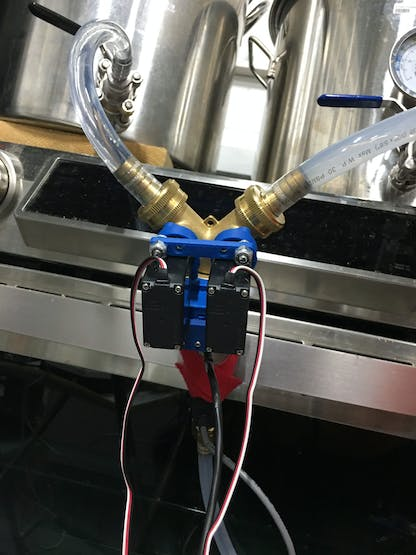 Installation View of the BrewCentral Temperature Mixer